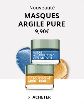 Masques Argile Pure